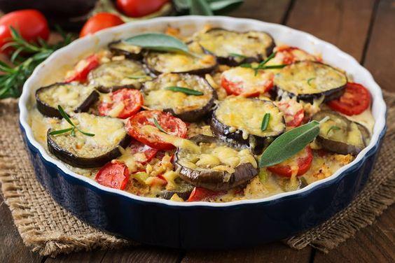 Moussaka de légumes au cumin