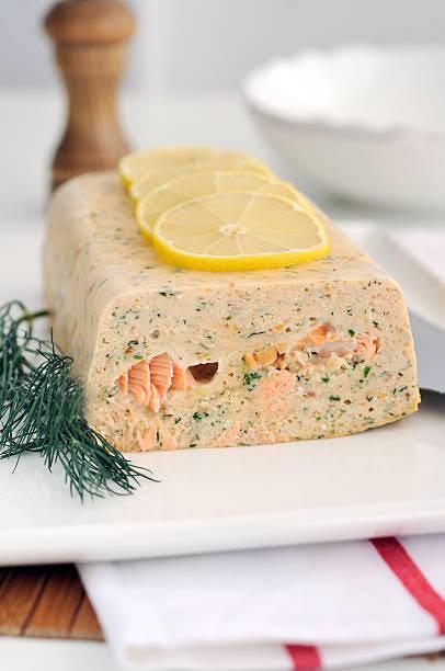 Terrine au saumon fumé