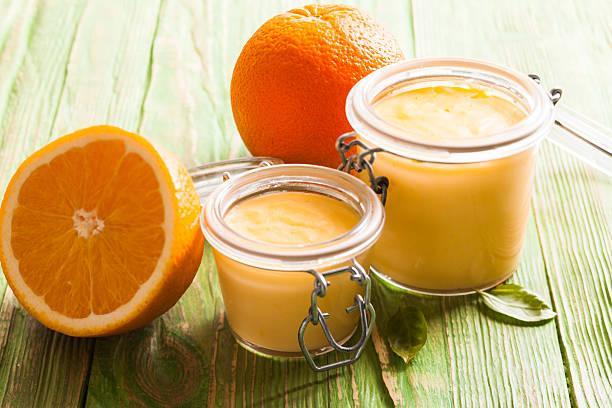 Mousse orange fleur d'oranger