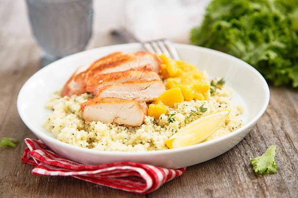 Salade de poulet à la mangue