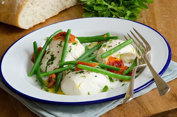 Salade verde mozzarella