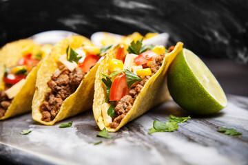 Tacos au bœuf