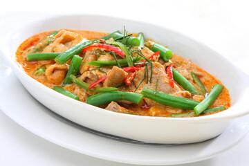 Curry de porc au gingembre