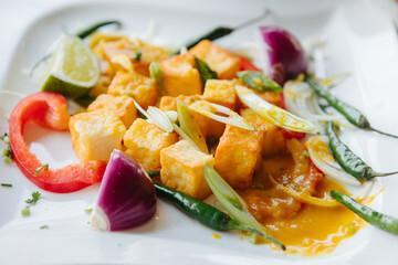 Salade de poulet antillaise