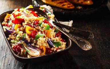 Fricassée épicée légumes quinoa