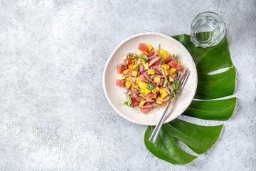 Salade de thon haïtienne