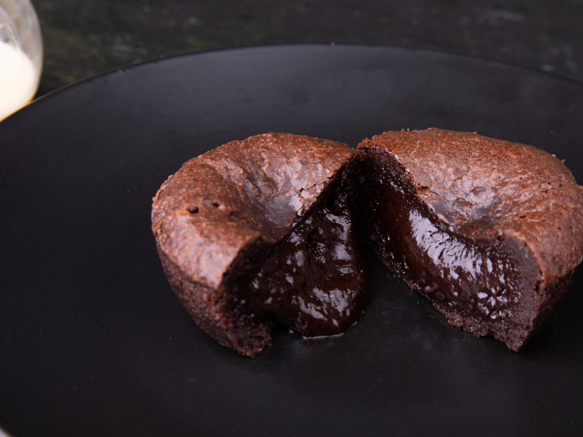 Cœur fondant au chocolat