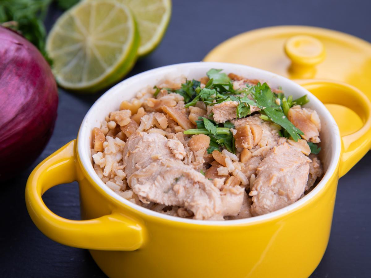 Poulet coco thaï