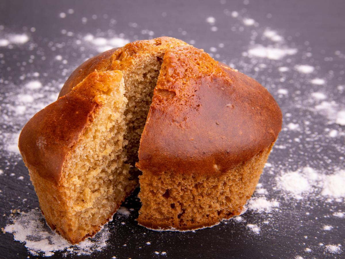 Muffin à l'abricot