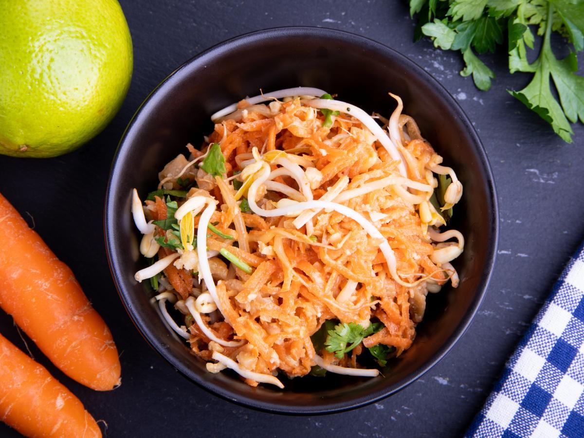 Salade de carottes aux cacahuètes