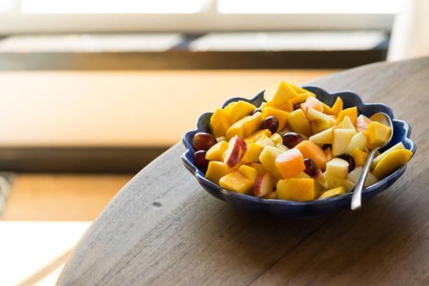 Salade de fruits verveine et zestes de citron