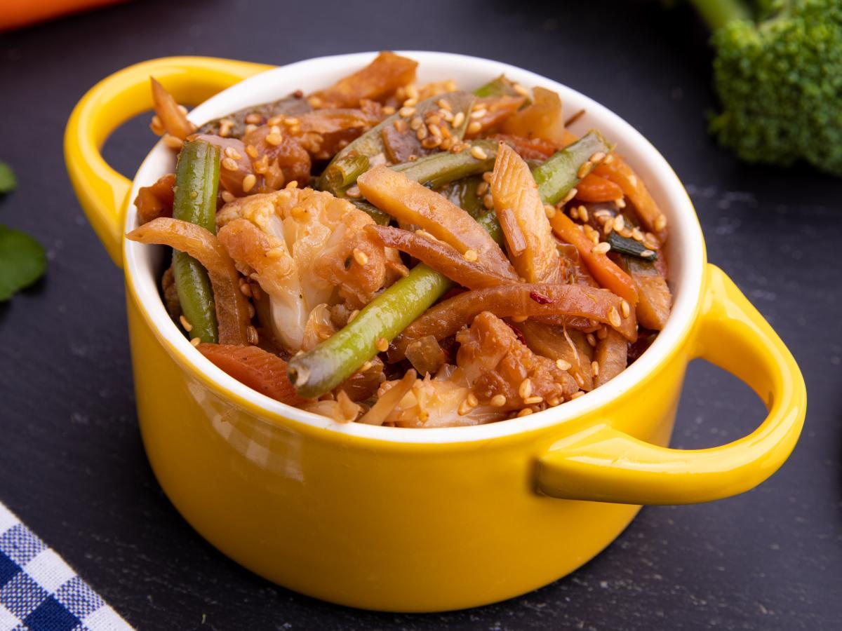 Légumes sautés à la chinoise