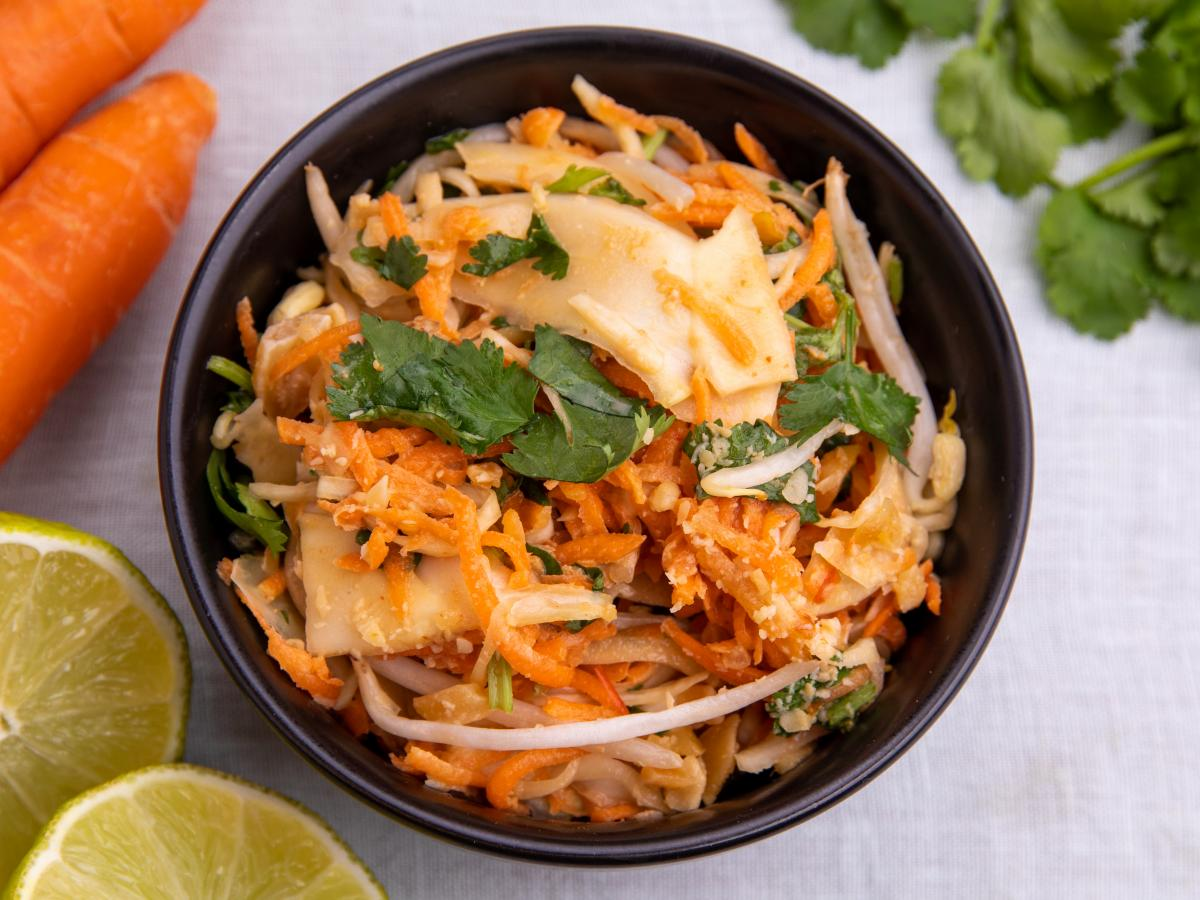 Salade thaïe aux cacahuètes