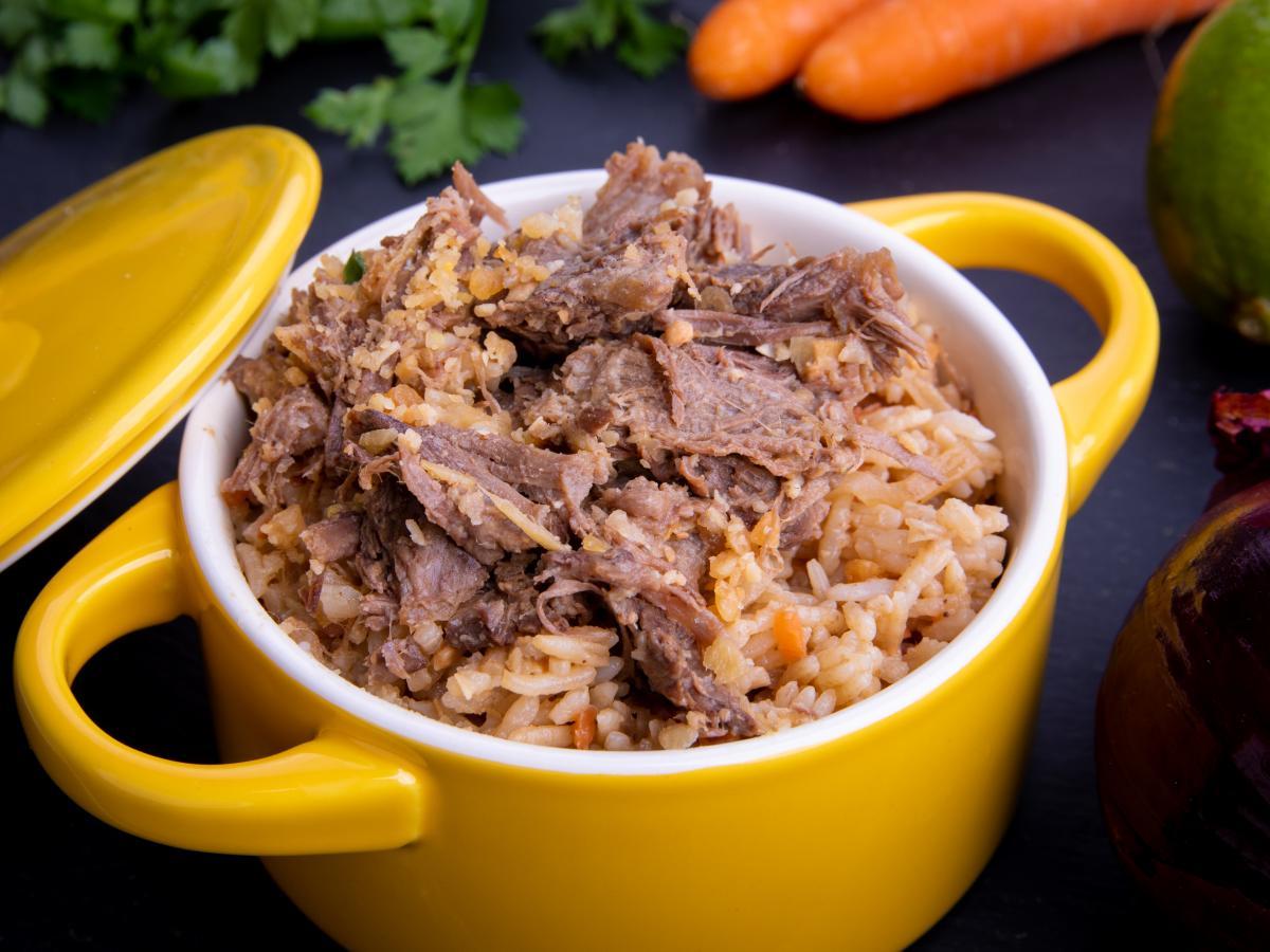 Riz sauté bœuf et gingembre