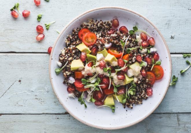 Grande salade fattouche