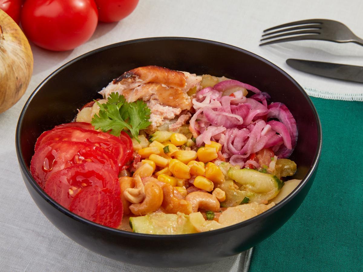 Grande salade cubaine