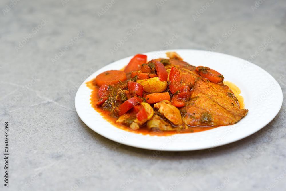 Mijotée de poisson blanc à la provençale