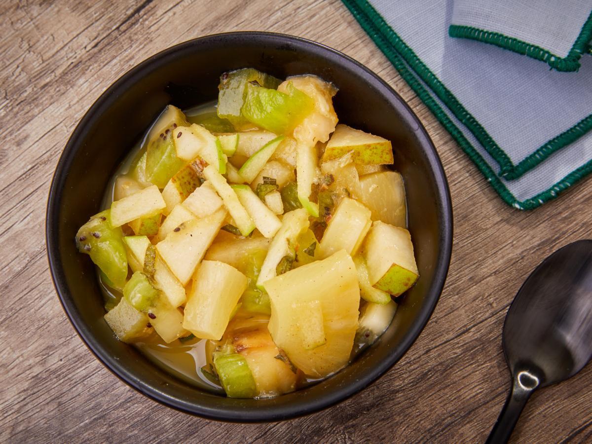 Salade de fruits cannelle et gingembre