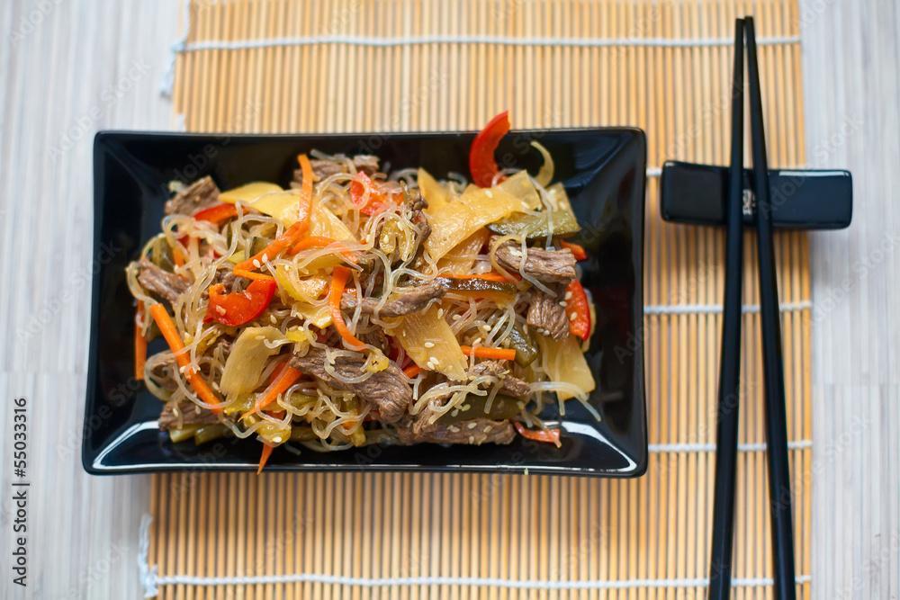 Sauté de bœuf thaï