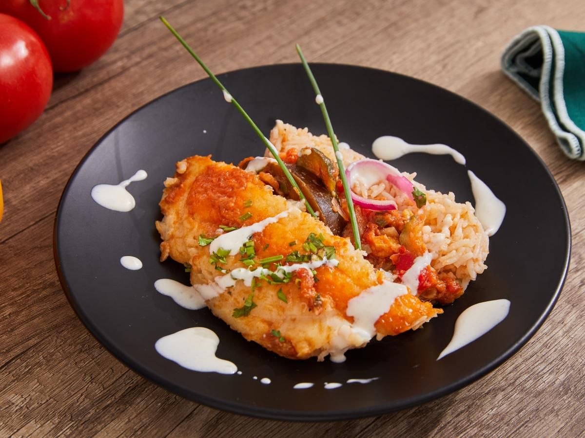 Mijotée de poisson blanc et ratatouille citronnée