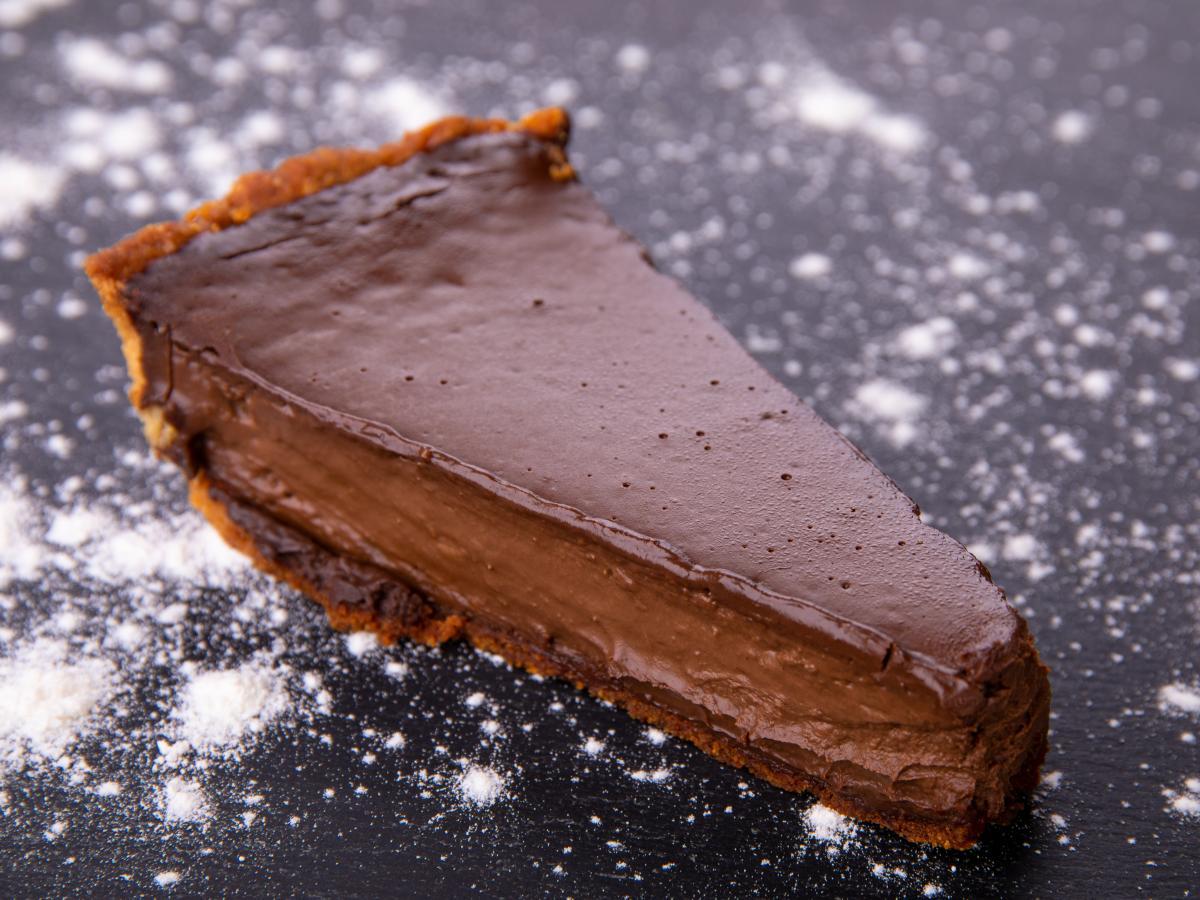 Tarte au chocolat noisettes