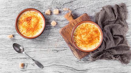 Crème brûlée aux épices