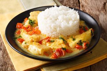 Meen Moilee : curry de poisson au lait de coco