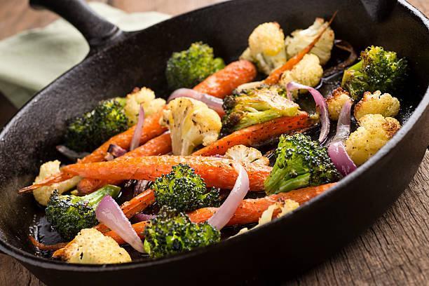 Fricassée de légumes et jaquier pibil