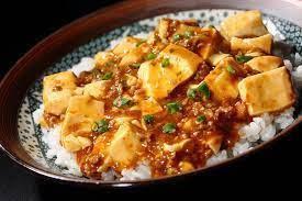 Mapo tofu : porc haché au gingembre