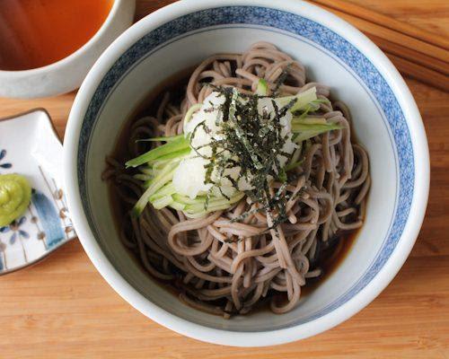 Zaru Soba consommé chaud aux nouilles japonaises