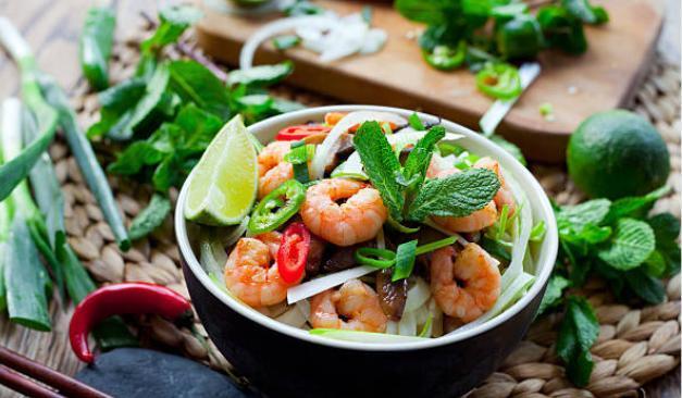 Grande salade vietnamienne