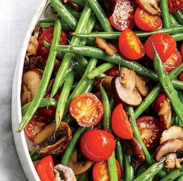Salade de haricots verts au gingembre